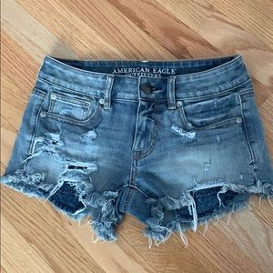 American Eagle super stretch shorts